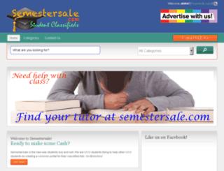semestersale.com screenshot