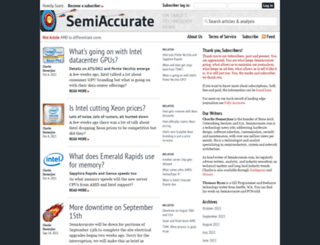 semiaccurate.com screenshot