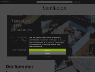 semikolon.com screenshot