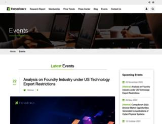 seminar.trendforce.com screenshot