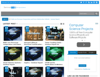 seminardrive.com screenshot