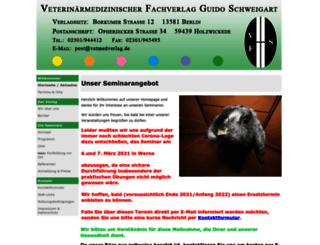 seminare.vetmedverlag.de screenshot