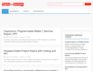 seminarlinks.blogspot.in screenshot