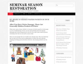 seminarseason.com screenshot