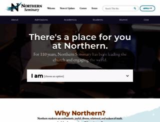 seminary.edu screenshot