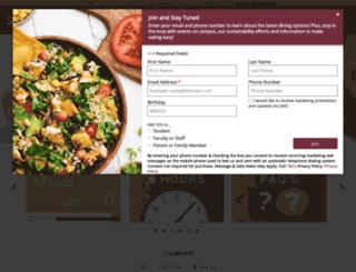 seminoledining.campusdish.com screenshot