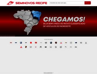 seminovosrecife.com.br screenshot