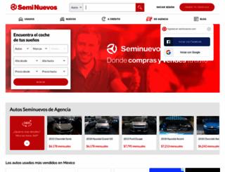 seminuevos.com.mx screenshot