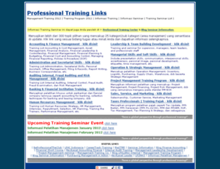 semlist.professionaltrainings.com screenshot