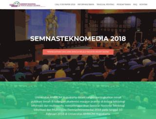 semnas.amikom.ac.id screenshot