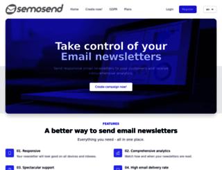 semosend.com screenshot