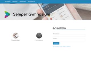 semper.edupage.org screenshot