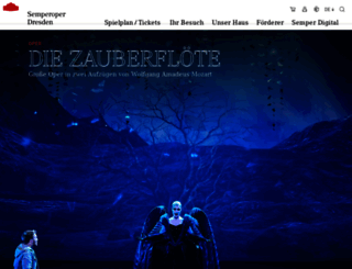 semperoper.de screenshot