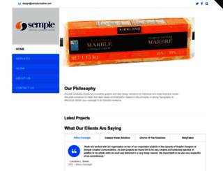 semplecreative.com screenshot