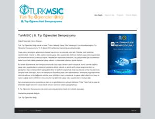 sempozyum.turkmsic.net screenshot
