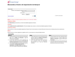 sempra.csod.com screenshot