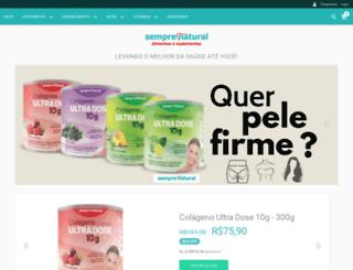 semprenatural.com.br screenshot