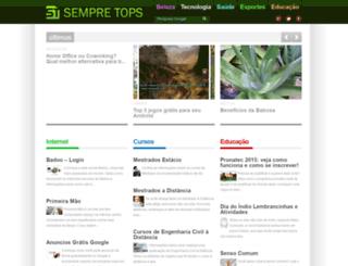 sempretops.com screenshot