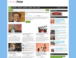 semuanyapanas.blogspot.com screenshot