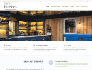 sen-interiors.co.uk screenshot