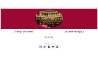 senaat.be screenshot