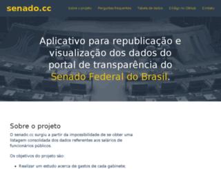 senado.cc screenshot