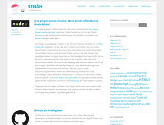 senaeh.de screenshot