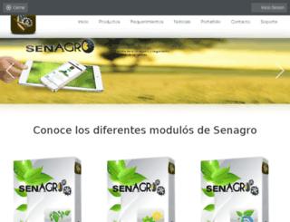 senagro.hol.es screenshot