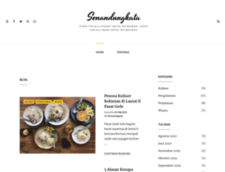 senandungkata.com screenshot