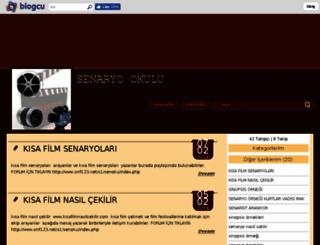 senaryookulu.blogcu.com screenshot