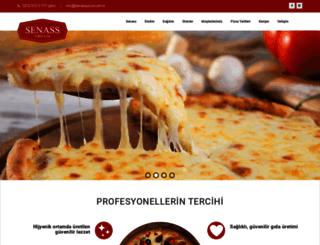 senasspizza.com.tr screenshot