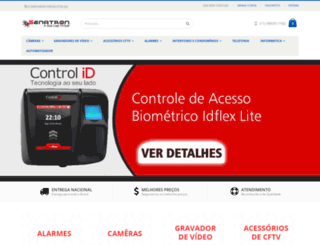 senatron.com.br screenshot