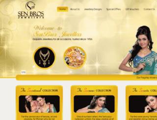 senbros.com screenshot