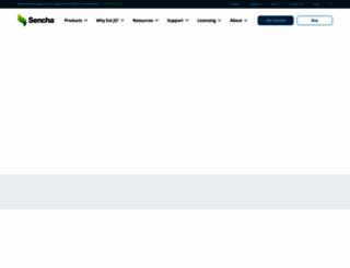sencha.com screenshot