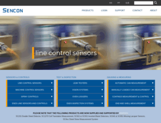 sencon.net screenshot