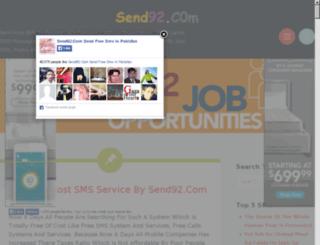 send92.in screenshot