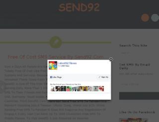 send92.net screenshot