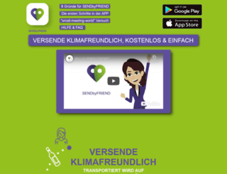 sendbyfriends.com screenshot