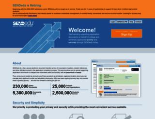 sendedu.org screenshot