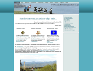 senderismoenasturias.es screenshot