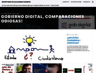 senderosdeiluminacion.bligoo.com screenshot