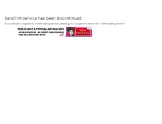 sendflirt.com screenshot