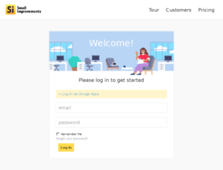 sendgrid.small-improvements.com screenshot