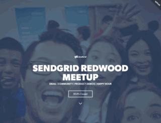 sendgridredwoodmeetup.splashthat.com screenshot