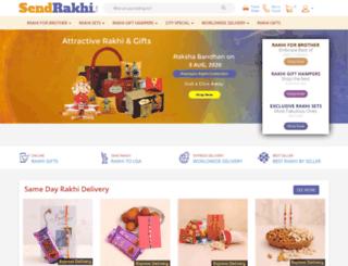sendrakhi.com screenshot