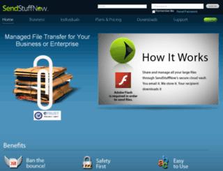 sendstuffnow.com screenshot