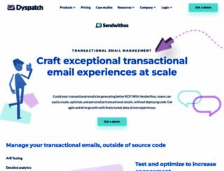 sendwithus.com screenshot