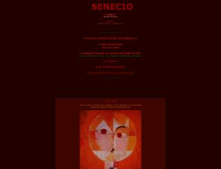 senecio.it screenshot