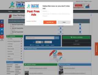 senegal.usauk-classifieds.com screenshot