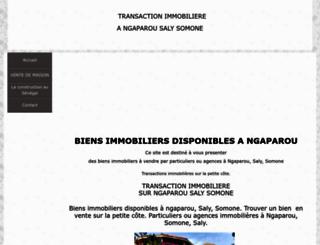 senegalie.wifeo.com screenshot